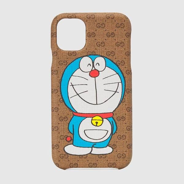 Ốp điện thoại Doraemon x Gucci iPhone 11 có giá 395 USD.
