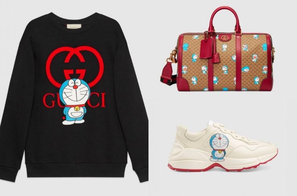 Gucci ra mắt bộ sưu tập Doraemon chào đón Tết Nguyên đán 2021.