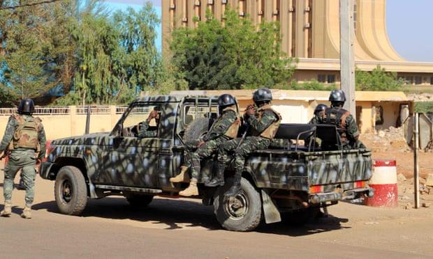 Lực lượng an ninh Niger.