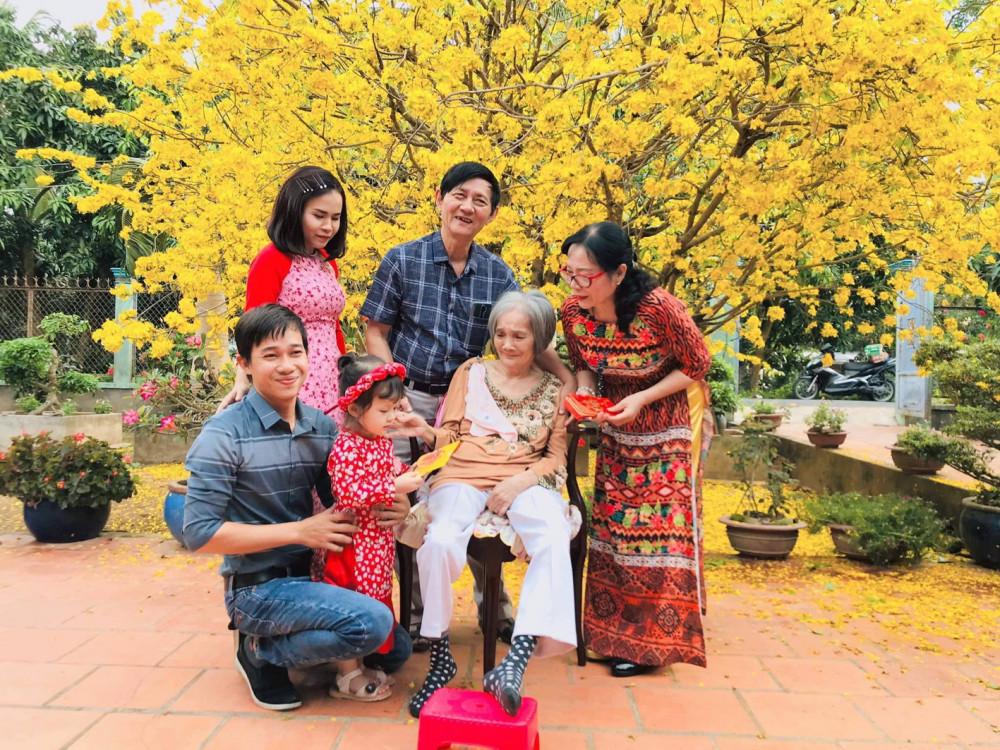 Gia đình ông Nhân luôn đầm ấm, yên vui