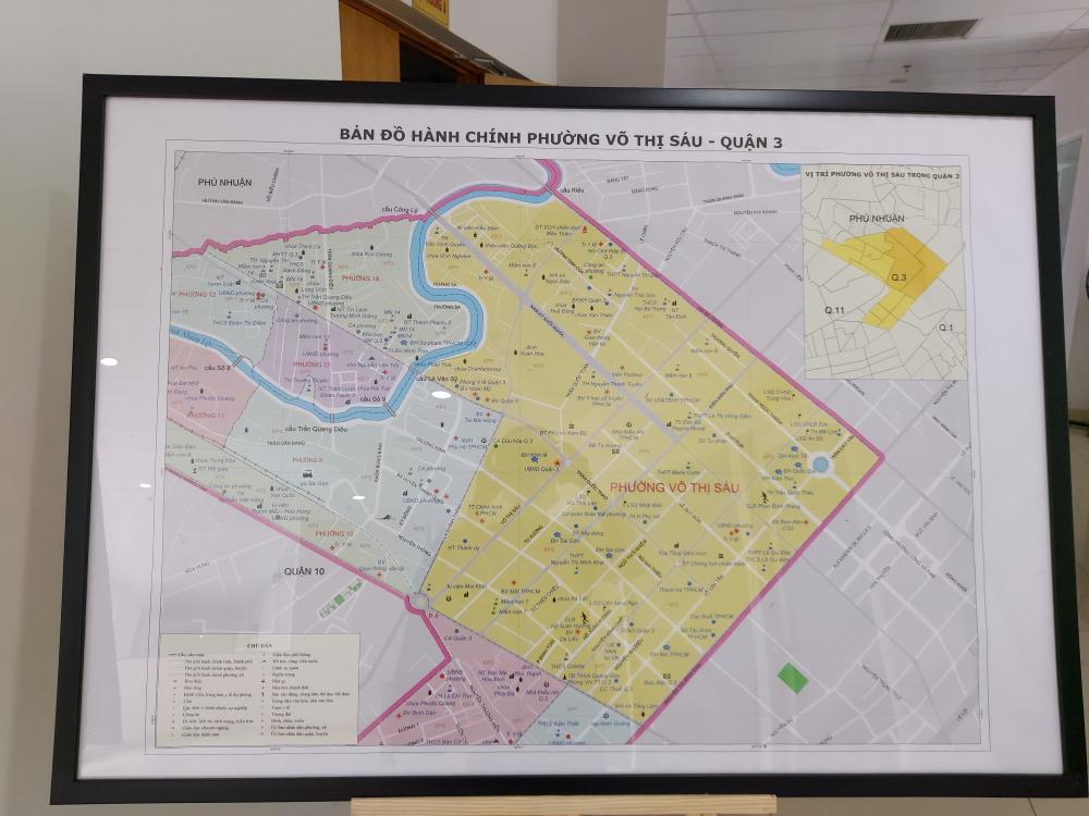 Phường Võ Thị Sáu có quy mô diện tích và dân số khá lớn của Quận 3.