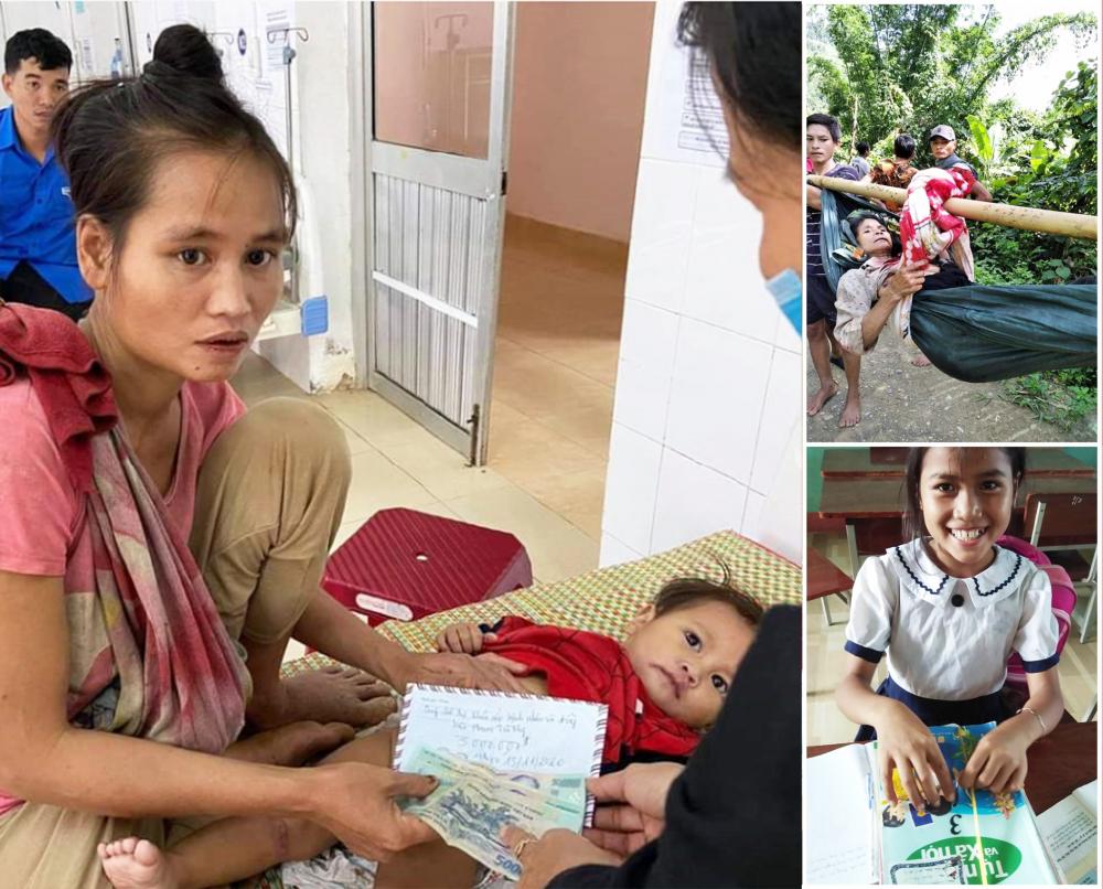 Từ lời kêu gọi, huy động của cô giáo Lê Thị Hồng Thanh, các điểm trường ở xã Trà Nam đã được xây kiên cố, khang trang. Sức khỏe của các em học sinh ở đây cũng được chăm sóc tốt hơn