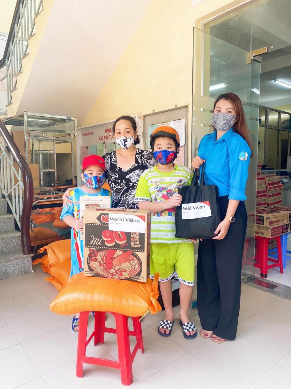 Nguyễn Phạm Như Hậu nay đã ổn định công việc và luôn tích cực tham gia các hoạt động vì cộng đồng
