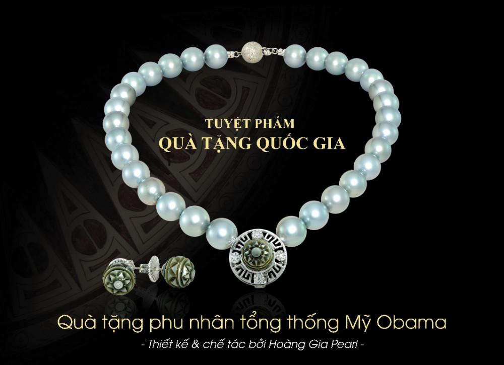 Quà tặng phu nhân cựu Tổng thống Mỹ Obama
