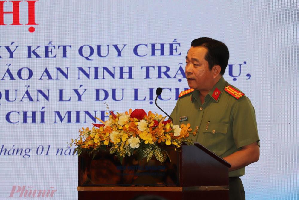 Thượng tá Nguyễn Thanh Tú - Trưởng phòng