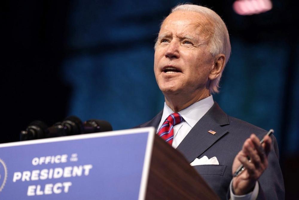 Tổng thống đắc cử Mỹ Joe Biden - Ảnh: AP