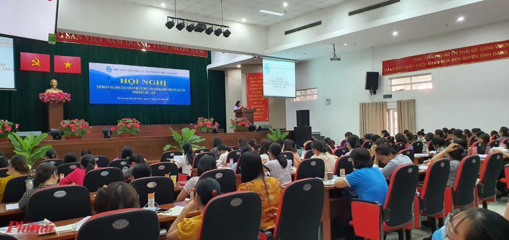 Hội LHPN TPHCM tổ chức tập huấn chuẩn bị Đại hội đại biểu Phụ nữ các cấp.