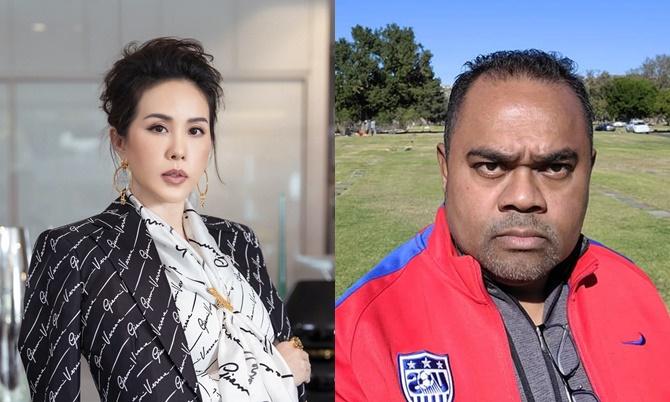 Hoa hậu Thu Hoài và ông bầu Dũng Taylor có cuộc chiến nảy lửa vừa qua liên quan đến sự ra đi của nghệ sĩ Chí Tài, Vân Quang Long