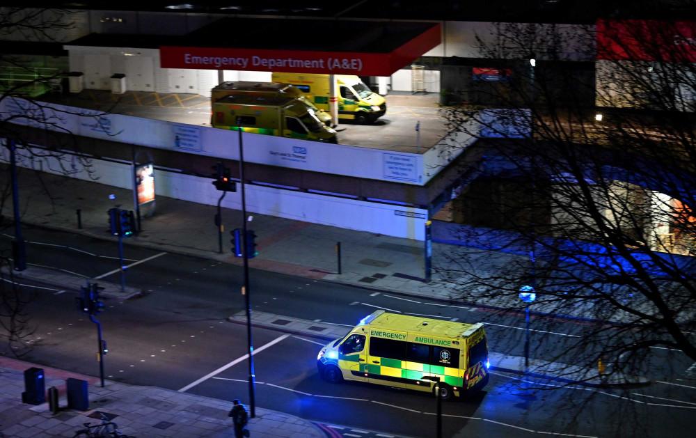 Các bệnh viện ở London quá tải vì số lượng bệnh nhân tăng cao đột biến