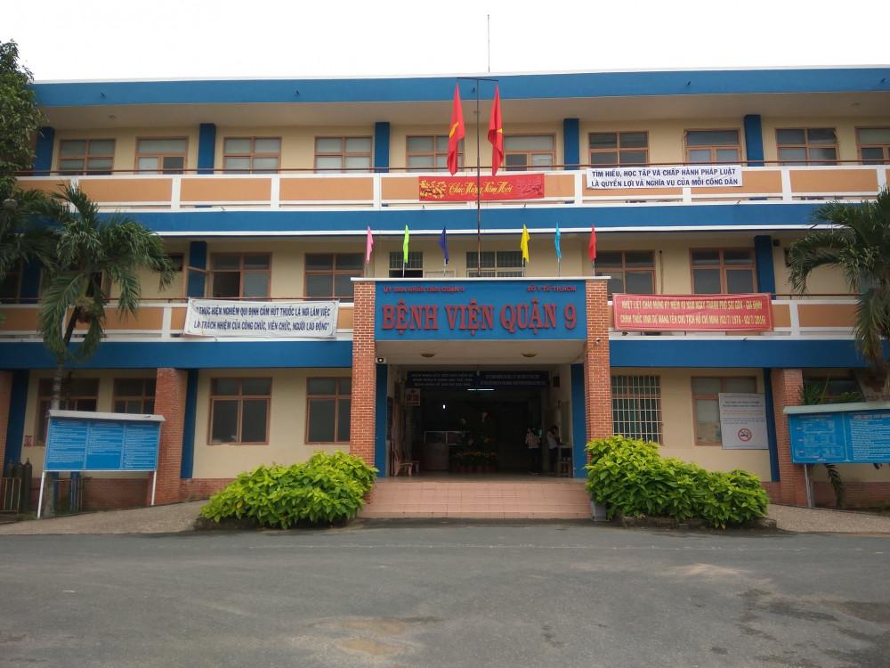 Bệnh viện quận 9 nằm trên đường Lê Văn Việt