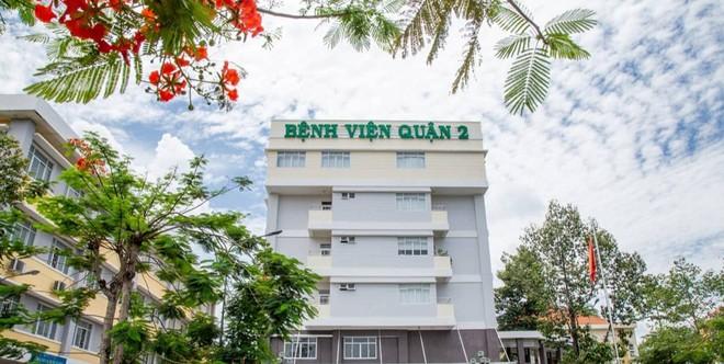 Bệnh viện quận 2 nằm trên trục đường này ở số 130 Lê Văn Thịnh