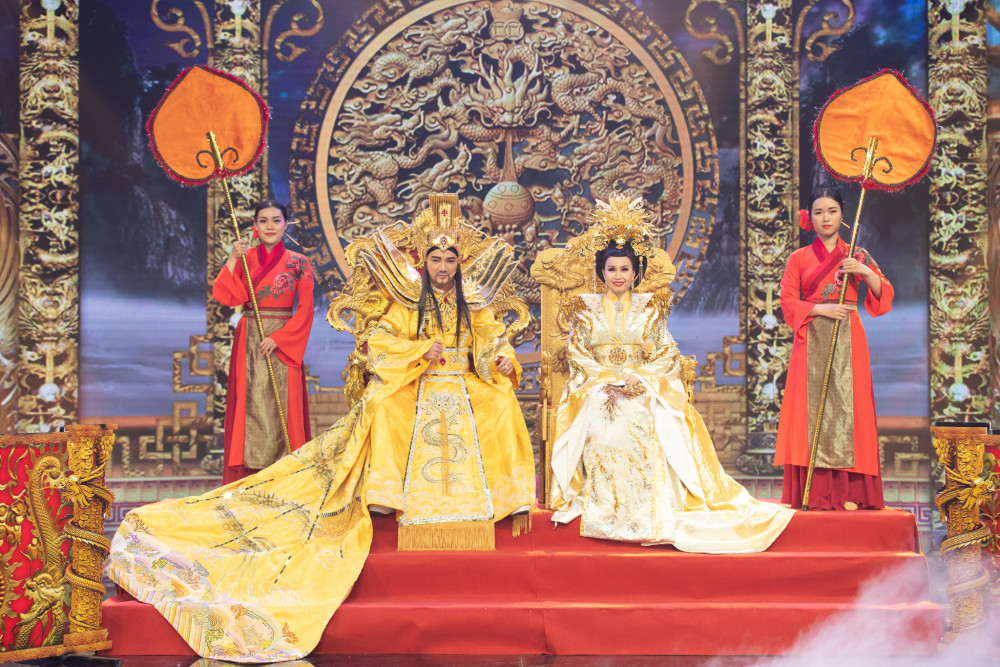 Đàm Vĩnh Hưng, Cẩm Ly tiếp tục đảm nhận vai Ngọc Hoàng, Thiên Hậu