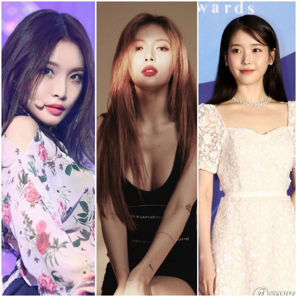 Chung Ha, HyunA và IU sẽ phát hành album mới vào đầu năm 2021.