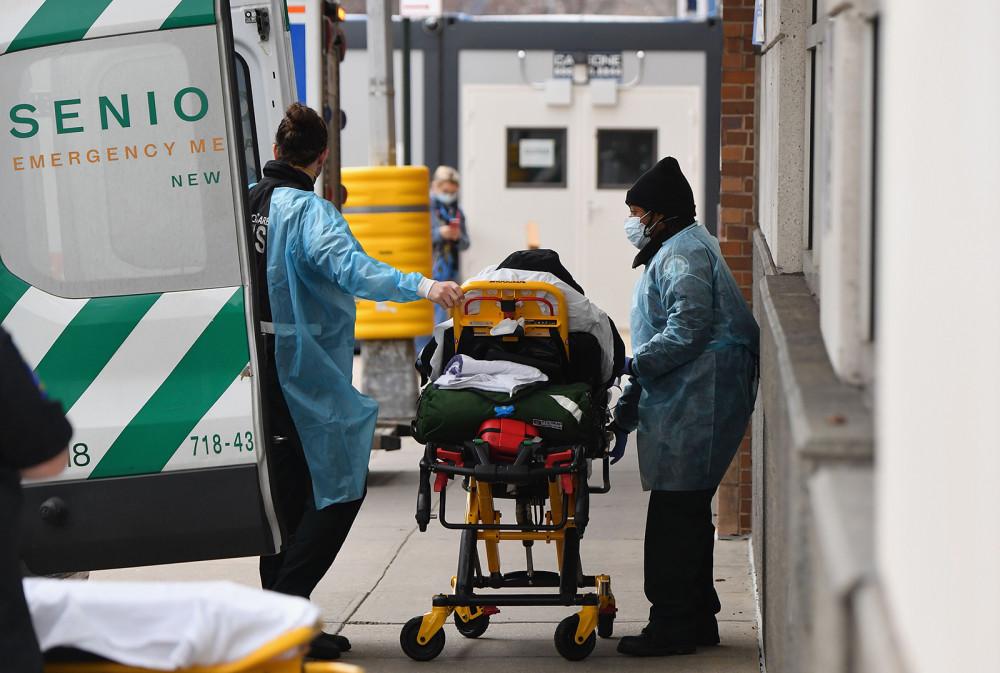 Hơn 22.000 người chết vì COVID-19 tại Mỹ trong 7 ngày qua.