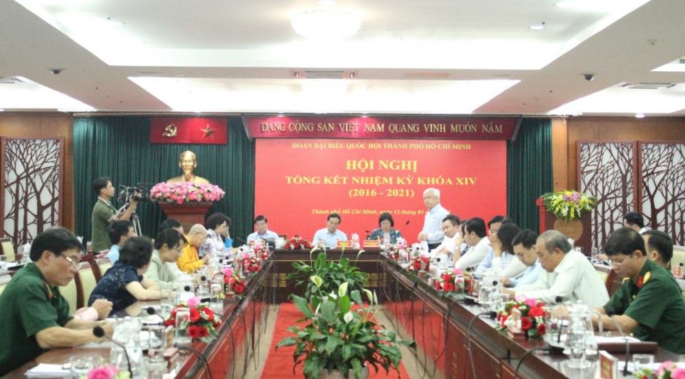 Đoàn ĐBQH TPHCM khóa XIV đã có một nhiệm kỳ thành công.