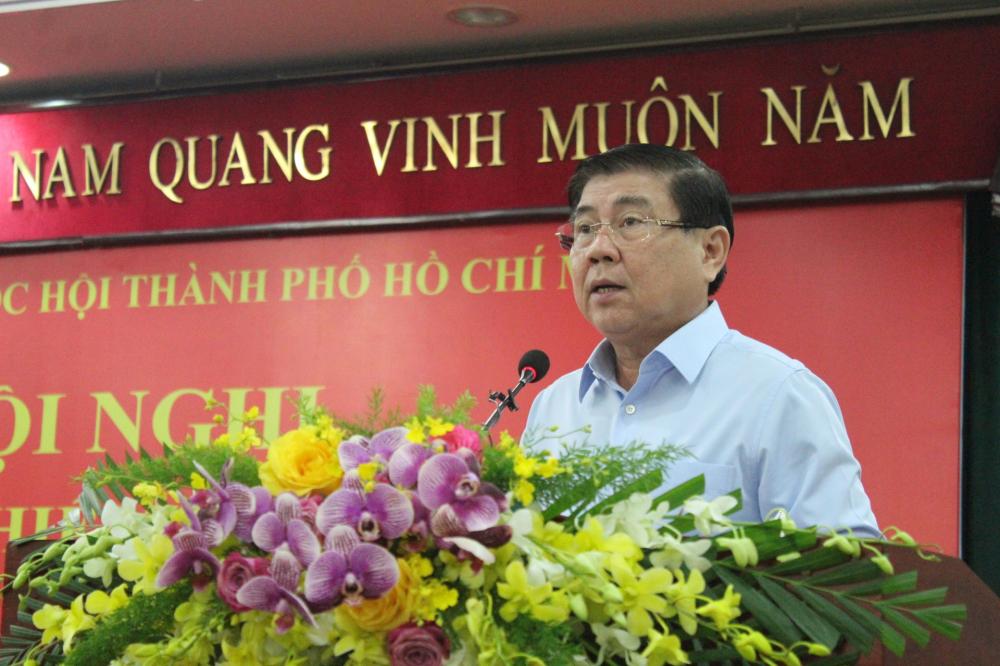 Chủ tịch UBND TPHCM Nguyễn Thành Phong đánh giá cao hiệu quả hoạt động của Đoàn ĐBQH TPHCM góp phần giải quyết những vấn đề tồn tại của địa phương.