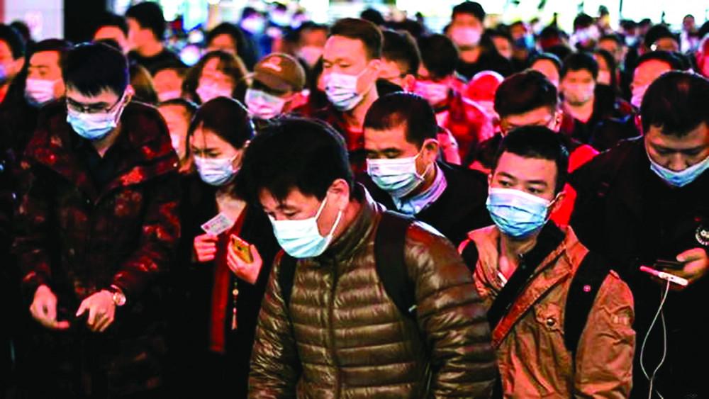 COVID-19 bùng phát ở Vũ Hán vào tháng 12/2019 - Ảnh: AFP