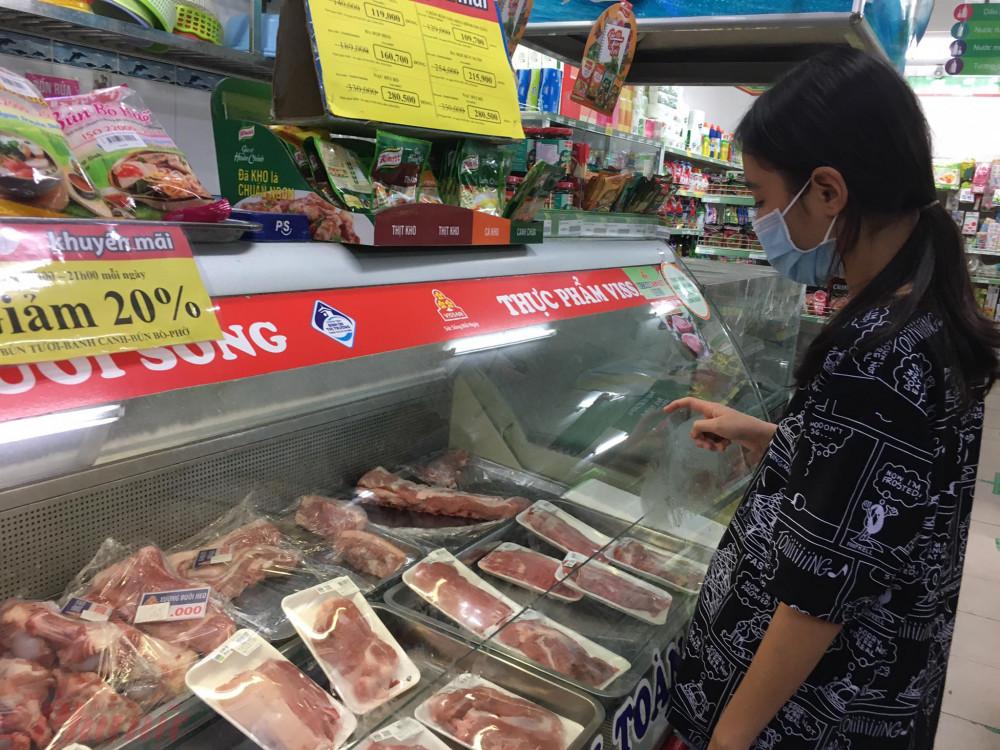 Từ ngày 12/1, giá thịt heo bình ổn tăng giá từ 6.000 – 15.000 đồng/kg