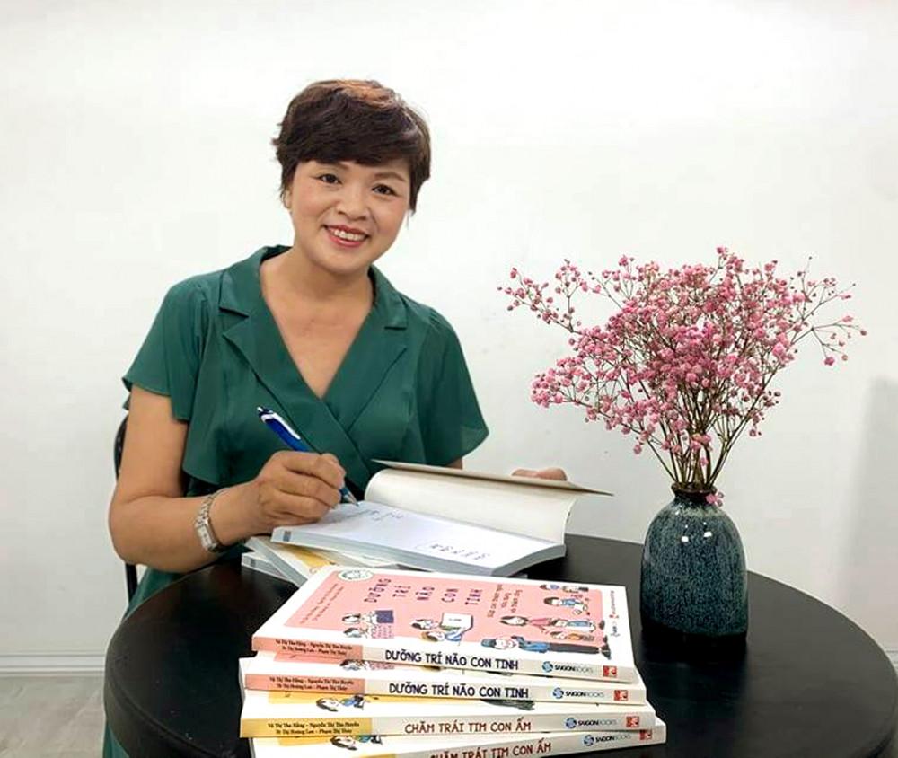 Chuyên viên tham vấn - tiến sĩ  xã hội học Phạm Thị Thúy (giảng viên  Học viện Hành chính quốc gia)