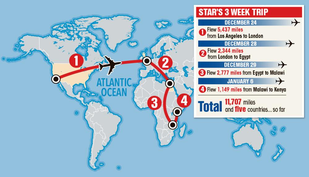 Lịch trình chuyến đi trong 3 tuần của Madonna bất chấp dịch bệnh nguy hiểm.