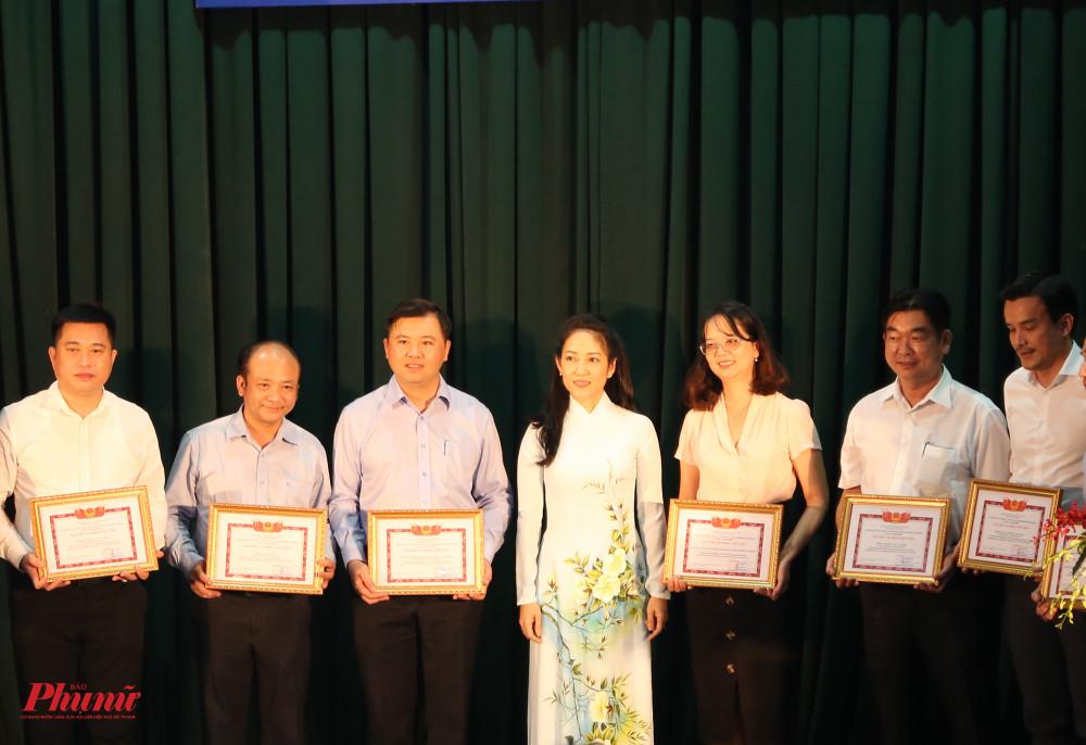 Các đơn vị nhận bằng khen từ Sở VH-TT TPHCM