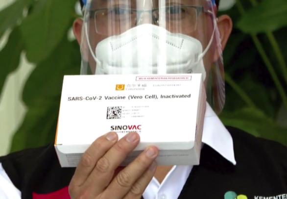 Cách đây hai ngày, chính phủ Indonesia đã cấp phép sử dụng vắcxin phòng COVID-19 của Trung Quốc