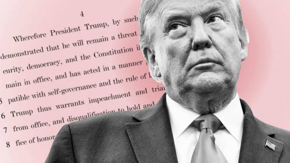 Ông Donald Trump trở thành Tổng thống Mỹ đầu tiên bị luận tội hai lần
