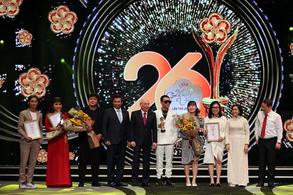 3 giải Mai Vàng được công bố từ trước đêm trao giải gồm