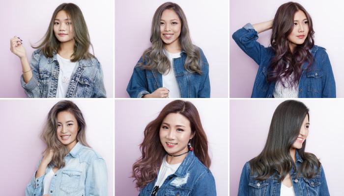 Căn cứ vào tông da, các chị em có thể lựa chọn cho mình những màu tóc nhuộm phù hợp