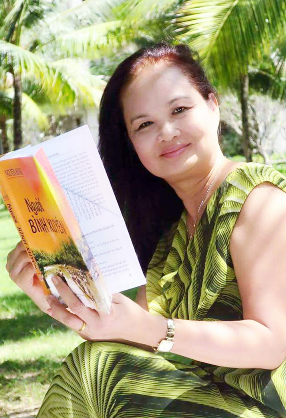 Nhà văn Bích Ngân - ảnh: Nhân vật cung cấp
