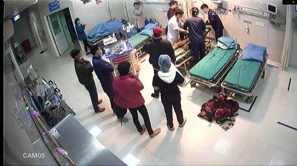 Toàn bệnh viện huy động
