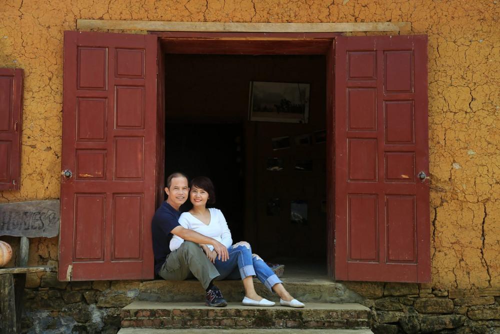 Vợ chồng Hoàng Sơn-Vũ Liên
