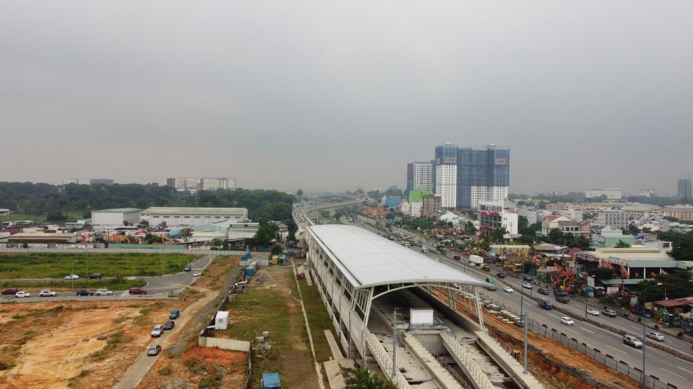 Cơ sở hạ tầng không ngừng được hoàn thiện ở TP. Thủ Đức.