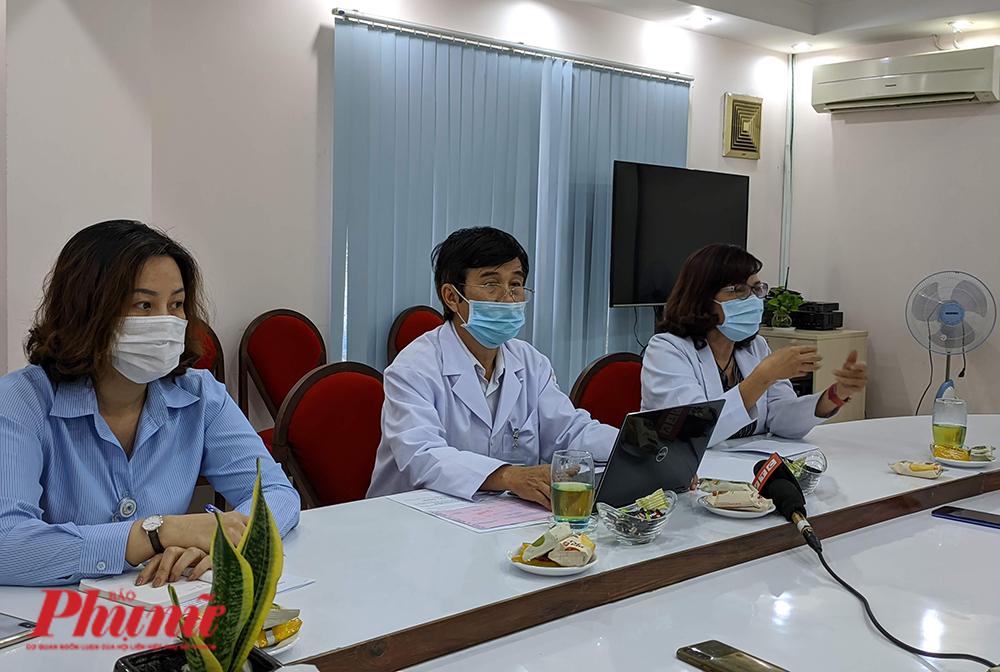 Đại diện BV phụ sản Mekong trả lời báo chí chiều 20/1/2021 về trường hợp chị T.