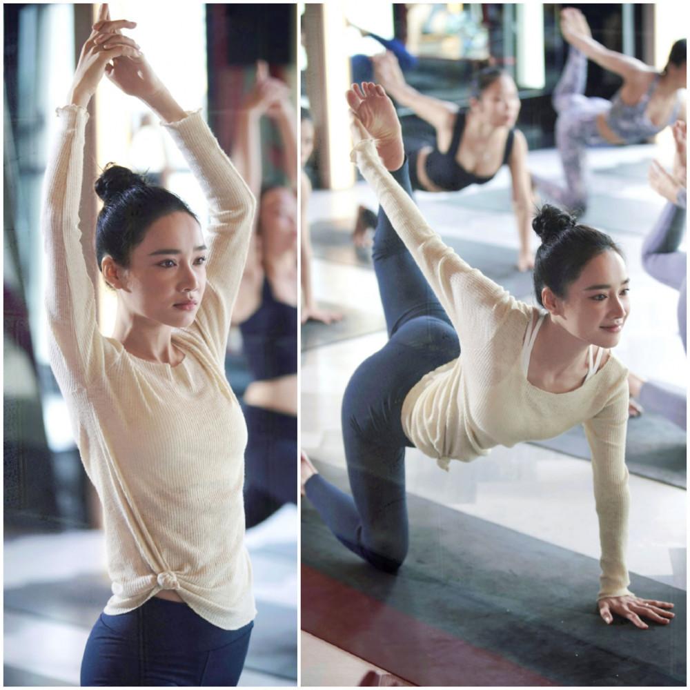 Cô nàng yêu thích phong cách thời trang nữ tính, nhất là sắc trắng tinh khôi tôn lên dàn da trắng sứ của bà xã Trường Giang. Nhã Phương tâm sự để có được vóc dáng hiện tại là nhờ chế độ ăn uống khoa học kêt hợp với tập luyện yoga.