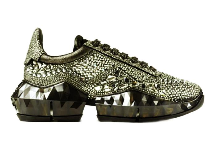 Mẫu giày thể thao Diamond của Jimmy Choo được bán với giá 4.400 USD
