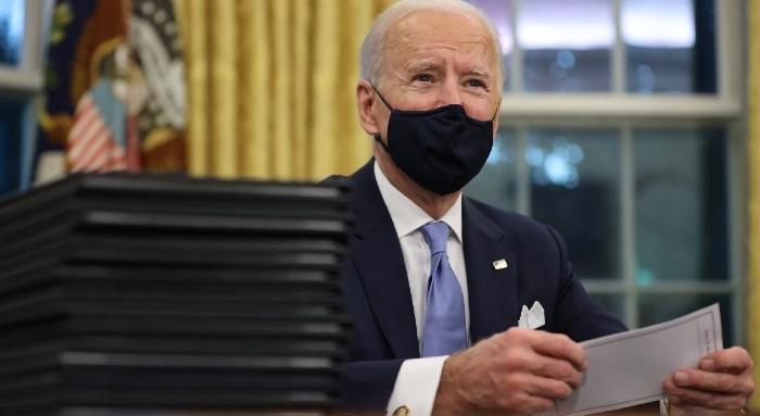 Thượng nghị sĩ Chris Coons nói rằng ông Biden đã có kế hoạch tái tranh cử - Ảnh: Getty Images