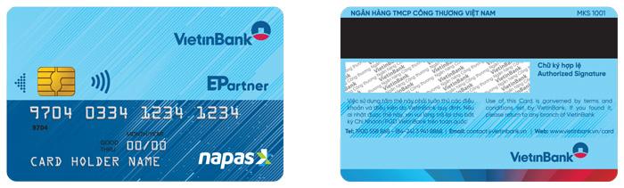 Thẻ chip Vietinbank Napas