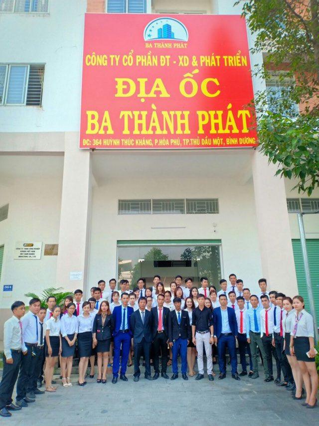Trụ sở công ty bất động sản Ba Thành Phát