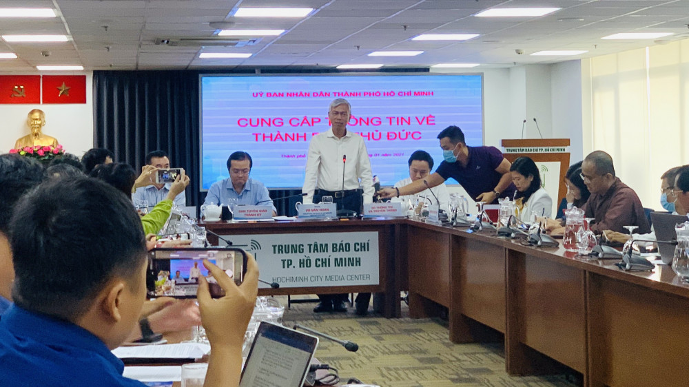 Phó chủ tịch UBND TPHCM Võ Văn Hoan thông tin về bộ máy TP.Thủ Đức