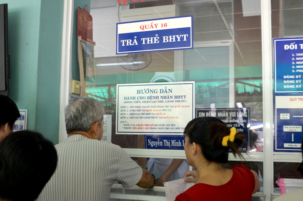 Khám chữa bệnh bảo hiểm y tế tại TPHCM