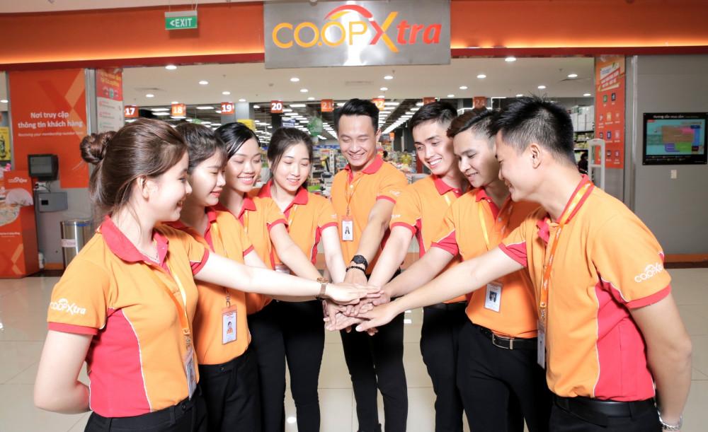 Nhiều cơ hội cho các bạn trẻ yêu thích lĩnh vực bán lẻ trong năm mới. Ảnh: Saigon Co.op