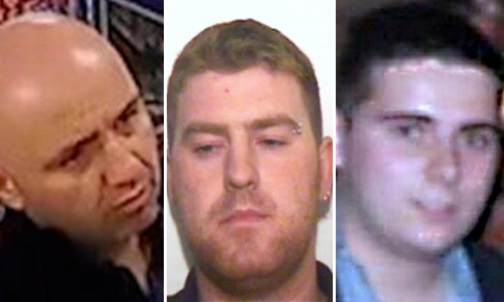 Những tên cầm đầu nhóm buôn người vụ Essex: Từ trái sang, Gheorghe Nica, Ronan Hughes và Eamonn Harrison bị án tù 27 năm, 20 năm và 18 năm - Ảnh: PA
