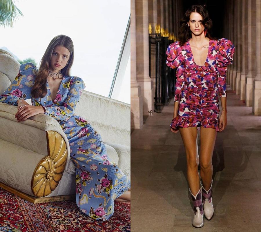 2. Váy hoa: