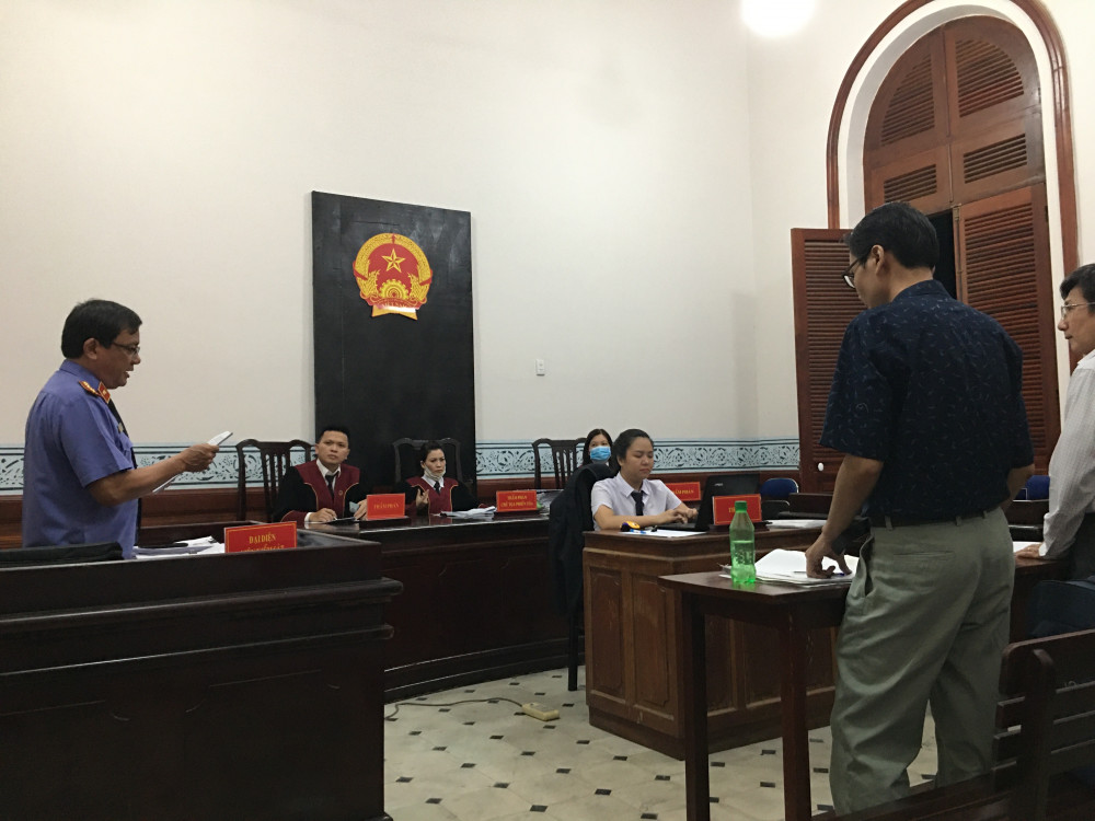 Tòa phúc thẩm tuyên y án sơ thẩm đối với vụ kiện của NCS Nguyễn Hoàng Anh Tuấn