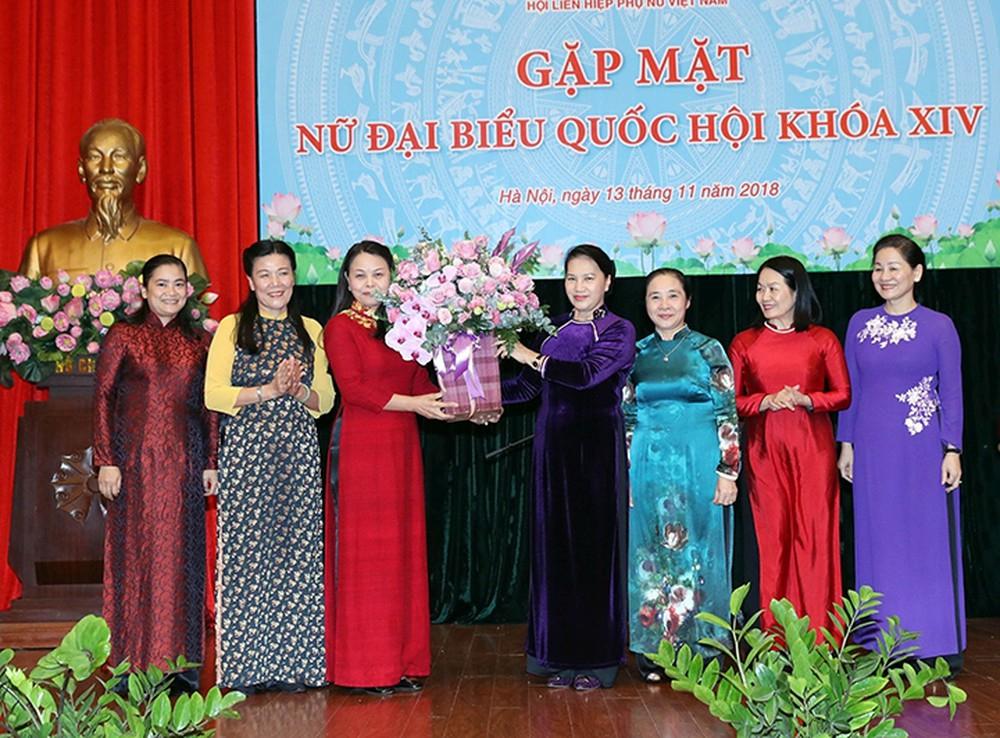 Nâng cao quyền của phụ nữ trong đời sống chính trị - xã hội là chủ trương lớn của Đảng và Nhà nước Việt Nam - Ảnh tư liệu