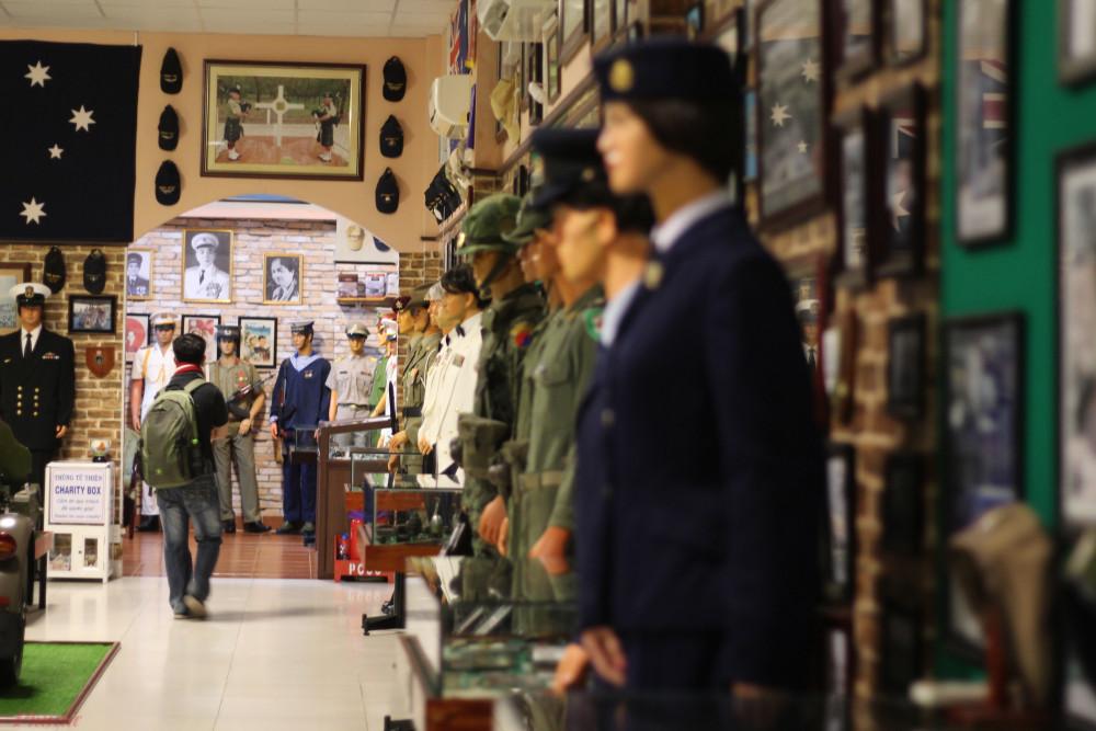Bảo tàng vũ khí cổ Vũng Tàu là bảo tàng tư nhân đầu tiên của tỉnh này.