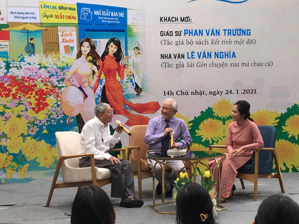 Ký ức Tết xưa được GS Phan Văn Trường và nhà văn Lê Văn Nghĩa chia sẻ cùng bạn đọc