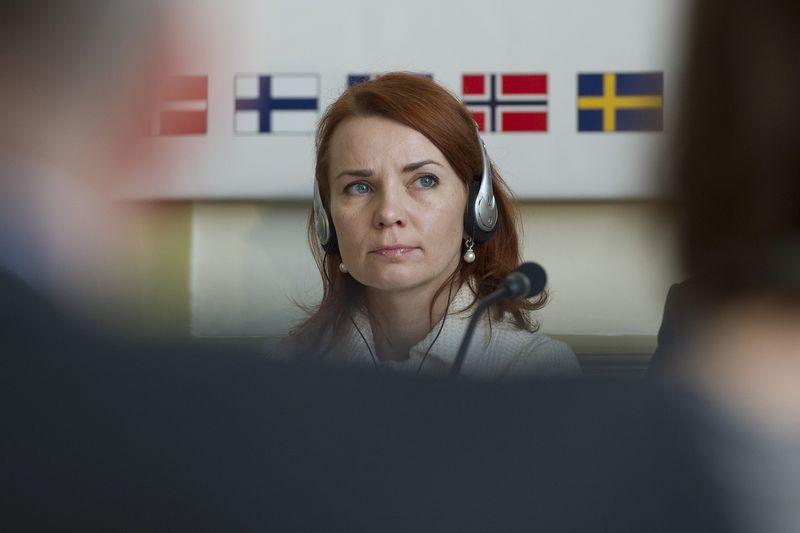 Bộ trưởng tài chính Keit Pentus-Rosimannus - Ảnh: AFP/Getty Images