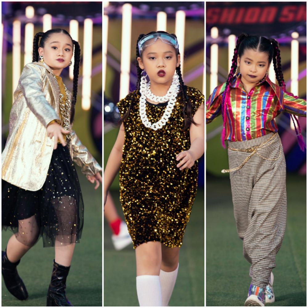 Lấy cảm hứng từ bộ phim tình cảm gia đình ăn khách của Hàn Quốc Reply 1988, NTK Hà Nhật Tiến đã tái hiện lại thế giới đầy màu sắc ngôn ngữ thời trang của mình trong bộ sưu tập Reply 1988.